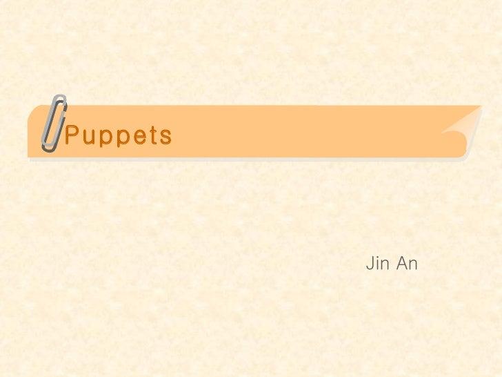 Puppets Jin An