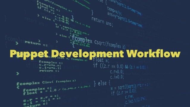 Puppet Development Workflow