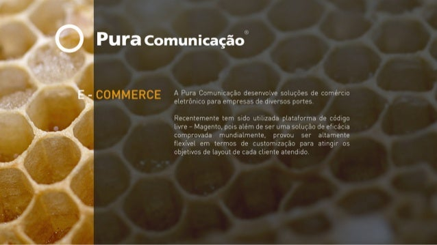 Pura Comunicação // E-commerce