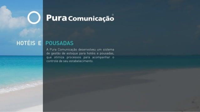 Pura Comunicação - Hotéis e Pousadas