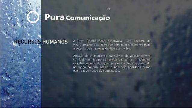 Pura Comunicação // Recursos Humanos.