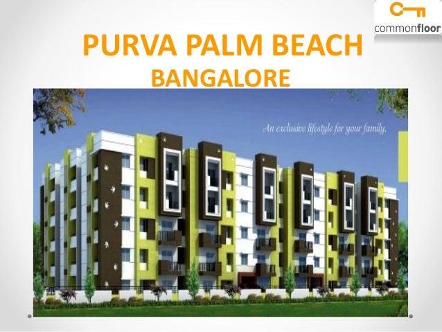 Puravankara Purva Palm Beach Bangalore | Puravankara Purva ...