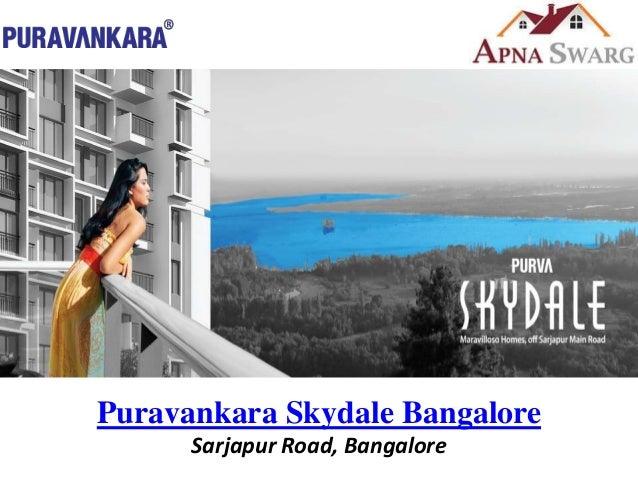 Puravankara Skydale, Offering 2/3 Bedroom Apartments in Sarjapur, Ban…