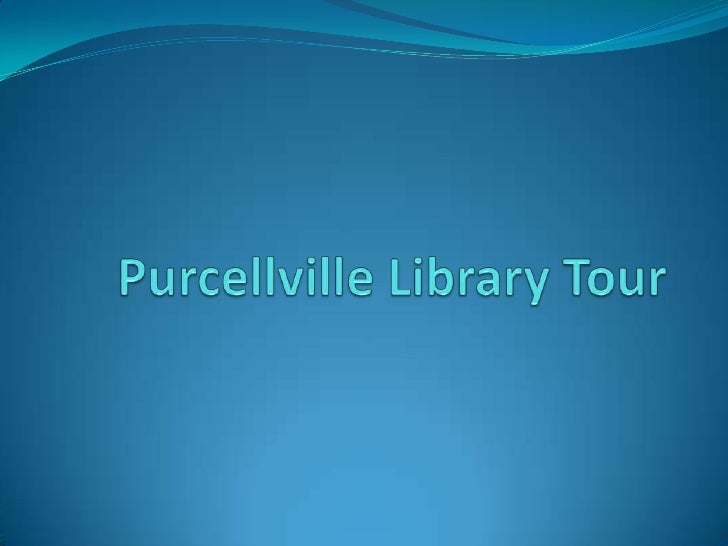 Purcellville Library Tour<br />