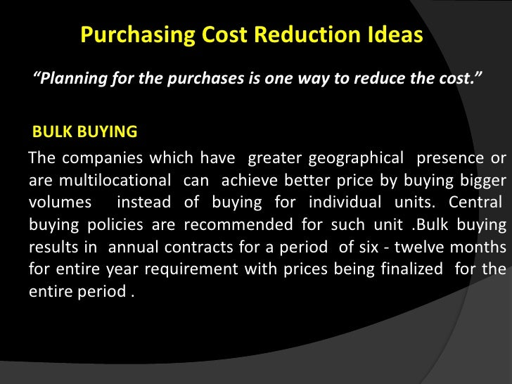 how to reduce the cost of How to reduce fixed costs  what causes cost and how do you cut it at source in general, you've got three factors to look at with every significant fixed cost.