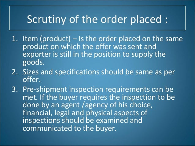 Purchase Order Exporter Importer Buying Agent – Is a Purchase Order a Legal Document