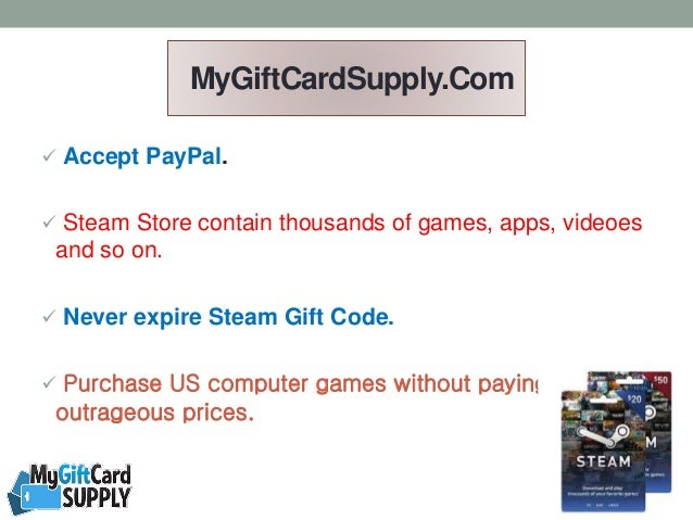 Purchase Steam Gift Cards with Instant Online Delivery