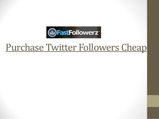 Purchase twitter followers cheap Slide 2