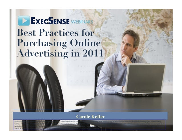 Best Practices for Purchasing Online Advertising in 2011