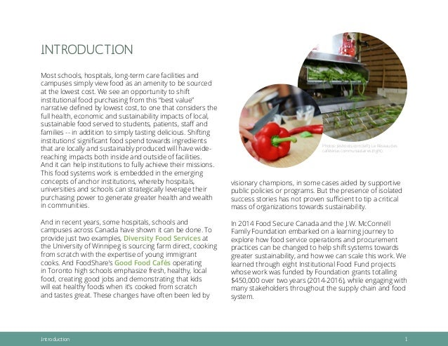 Local Sustainable Food Chain