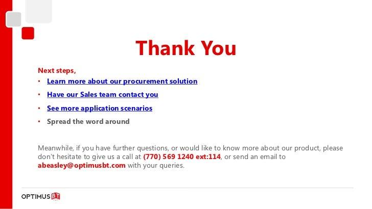 Purchasing, Procurement, Vendor, Contract and RFP Process Management …