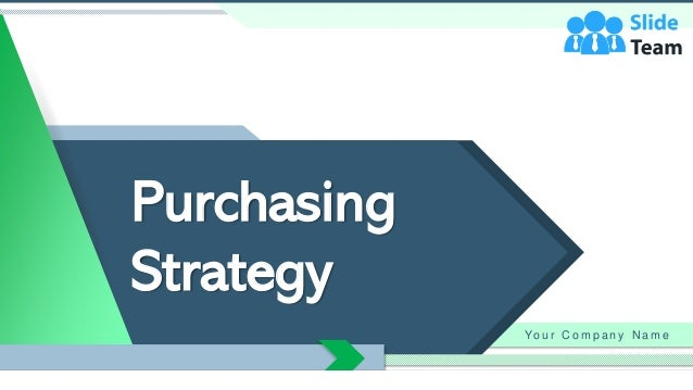 Purchasing Strategy Yo u r C o m p a n y N a m e