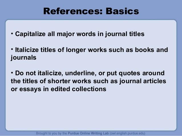 apa style purdue Purdue owl: apa formatting and style guide pesquisa, ensino da escrita, papéis de escrita, escrita acadêmica, ensino deartes da línguagem, escrever aulas.