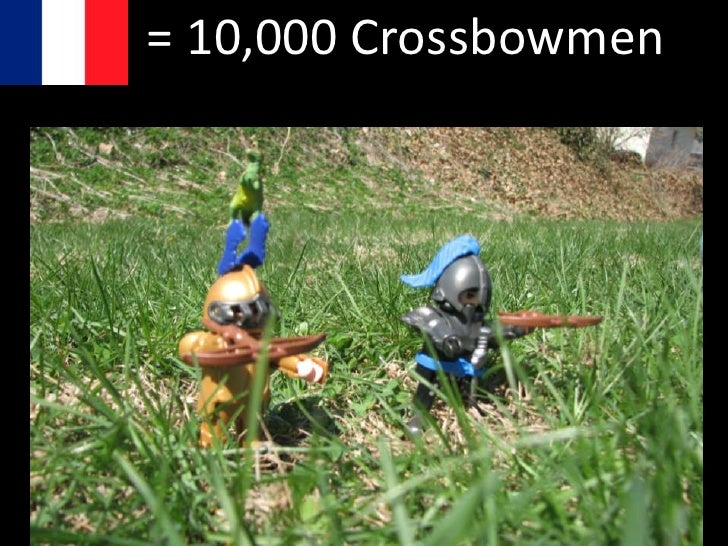 = 1,000 Dismounted Knights
