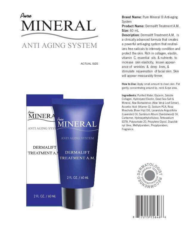 Spa De Soleil Pure Mineral 11-oz Repair Toner 4 Pack - Dermabrush Advanced Cleansing System, Purple 1 ea