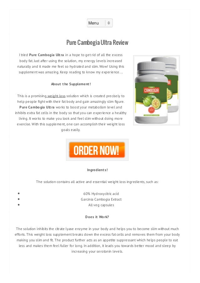 Garcinia cambogia wow reviews