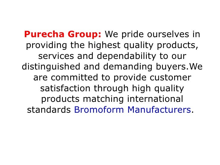 Purecha Group:  We pride ourselves in providing the highest quality products, services and dependability to our distinguis...