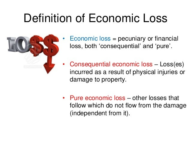 pure economic loss tort Till today, english jurisprudence on when pure economic loss may be  recoverable in the law of the tort of negligence remains unclear, with the.