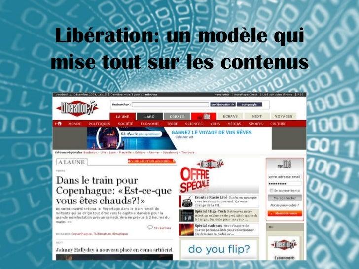 Libération: un modèle quimise tout sur les contenus