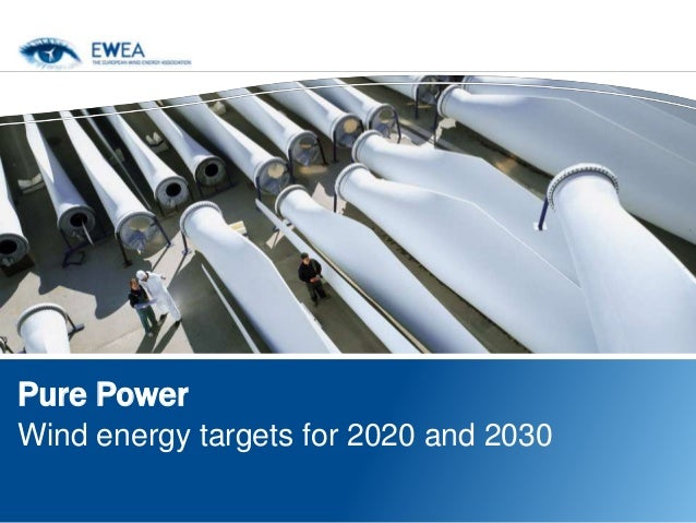 Pure PowerWind energy targets for 2020 and 2030