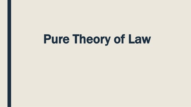 Pure Theory Of Law Kelsen Pdf