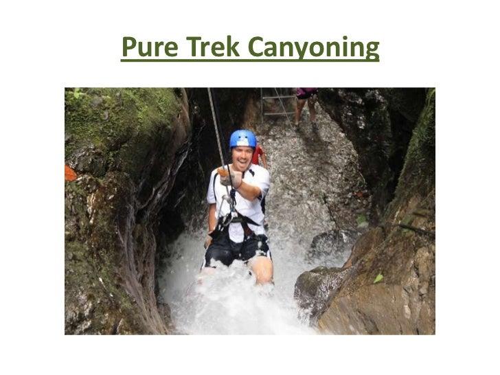 Pure Trek Canyoning