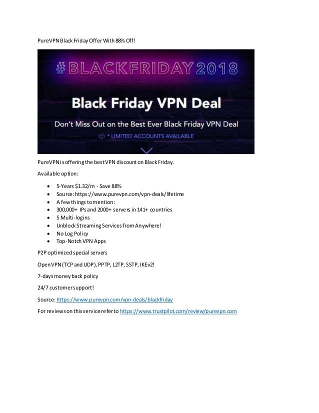 d078ef65e3cce PureVPN Black Friday Offer With 88% Off!