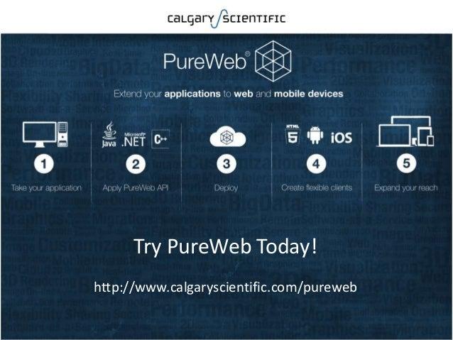 Try PureWeb Today! http://www.calgaryscientific.com/pureweb Confidential