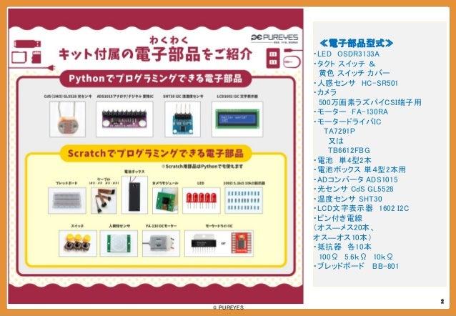 Pureyes tutrial for raspberrypi kit Slide 3