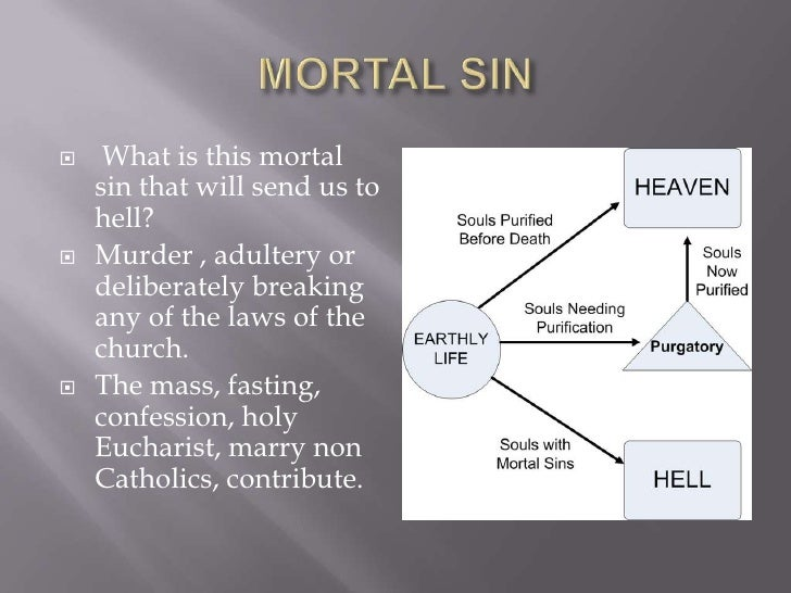 Are Faith Catholic Mortal What Sins In The