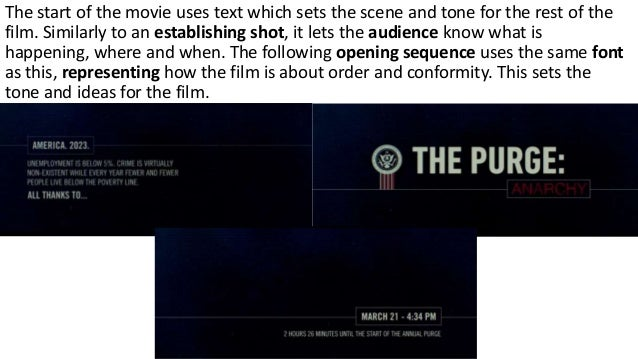 The Purge: Anarchy Opening Analysis