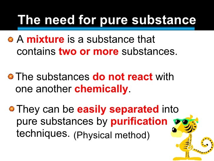 Is sodium chloride a pure substance?