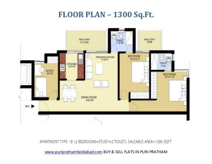 Puri pratham sec 84 buy sell flats in puri pratham for Buy floor plan