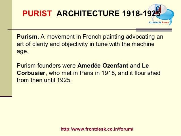 purism art movement