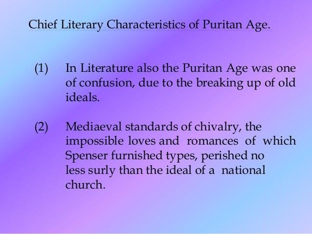 puritan age