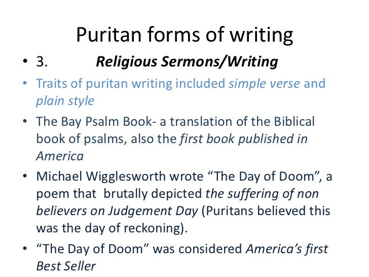 judgment day in the day of doom a poem by michael wigglesworth Michael wigglesworth (1631–1705) was a puritan minister, doctor and poet whose poem the day of doom was a bestseller in early new england  family michael wigglesworth was born october 18, 1631 in yorkshire , england.