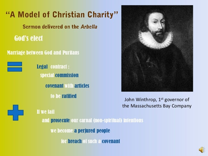 winthrop a model of christian charity summary