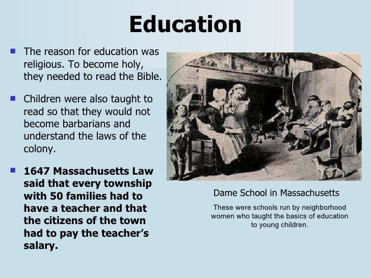 what was the tool puritans used to teach their children