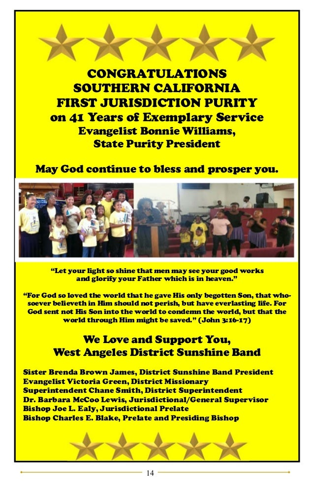 State Purity Ball Journal 2017 - COGIC