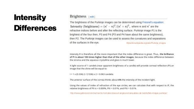 Purkinje imaging for crystalline lens density measurement