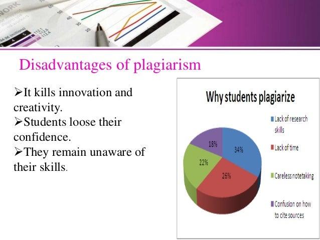 cons of plagiarism