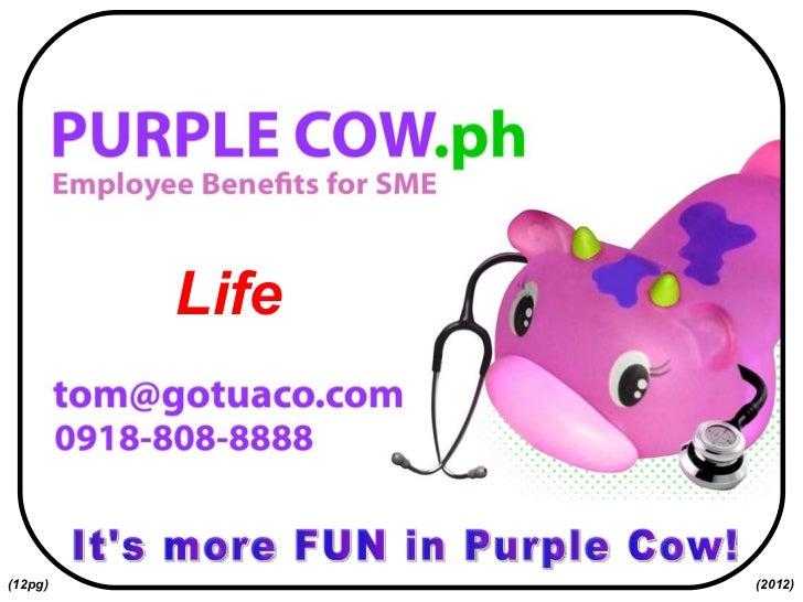 It's more FUN in Purple Cow! Life (2012) (12pg)