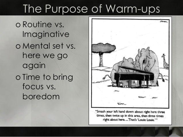Purpose Driven Choral Wam-ups Slide 2