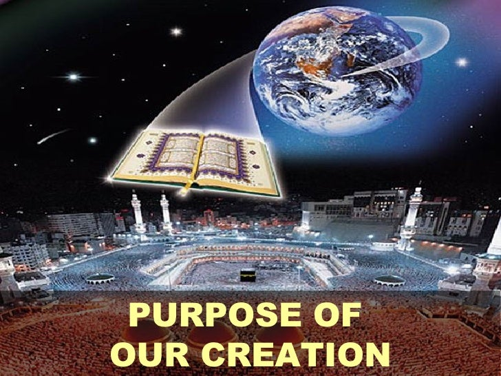 PURPOSE OF  OUR CREATION