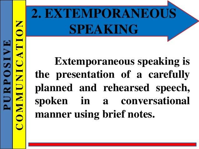 what is a manuscript speech definition