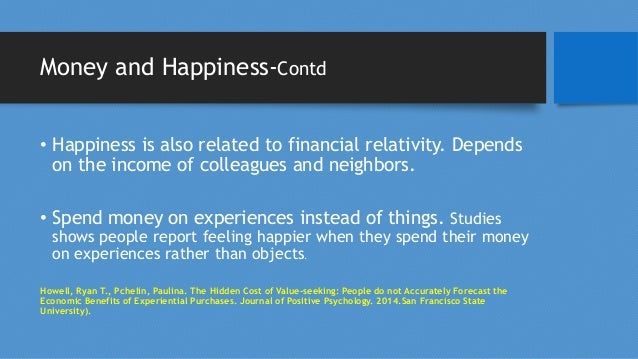 Life style and Happiness-Contd • Optimism-A study of the journals of 180 Catholic nuns written when they were about 22 yea...