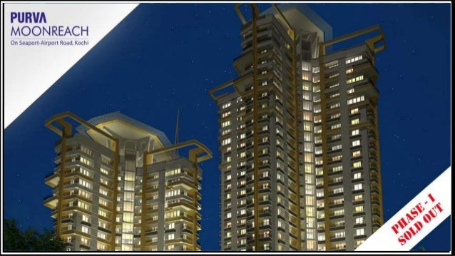 Purva Oceana • Everything at Purva Moonreach gives you the sensation of being within the reach of the skies: the elevation...