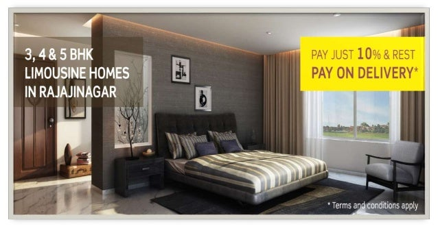 LIMOUSINE HOUSES • Purva Limousine Homes in Rajajinagar is one of the most spectacular project from Puravankara Property G...