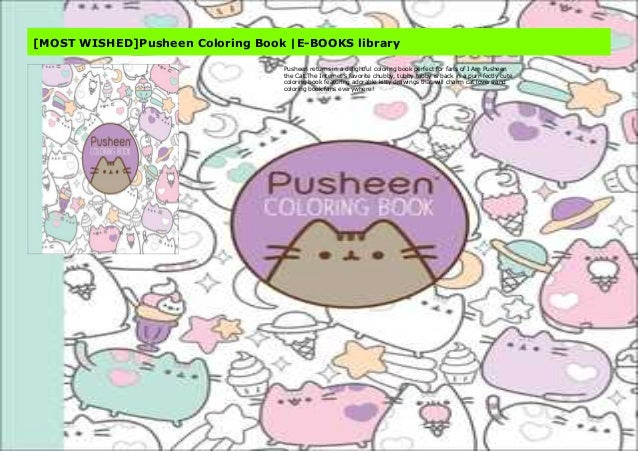 MOST WISHED]Pusheen Coloring Book  E-BOOKS Library