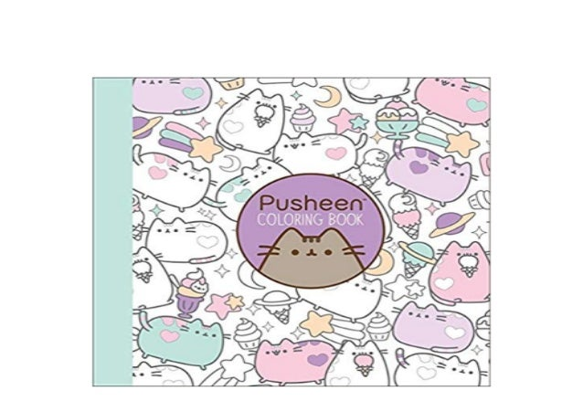 R E A D Library Pusheen Coloring Book A Pusheen Book Full Pages